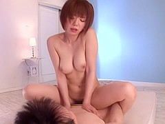 Exotic Japanese girl Mayu Nozomi in Incredible JAV censored Fetish, College clip