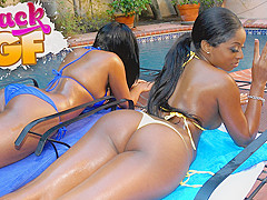 Monique in Double Up - BlackGfs