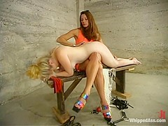 Kym Wilde and Jewel in Whippedass Video