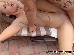 April Brooks in Daddy Daughter Swap - BarelyLegal
