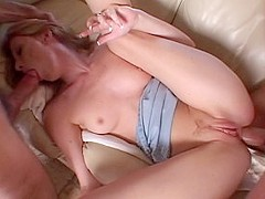 Best pornstar Allison Whyte in incredible small tits, gaping porn video