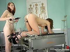 Kendra James and Nicolette in Wiredpussy Video