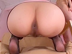 Amazing Stockings movie with Face Sitting,Asian scenes