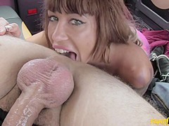 Suhaila in Spanish tits and English big dick - FakeTaxi