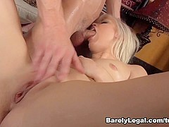 Ash Hollywood in Breakin In - BarelyLegal