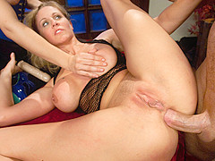 Hottest fetish, anal adult movie with incredible pornstars Bobbi Starr, John Strong and Julia Ann fr
