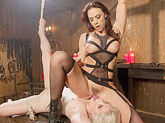 Best blonde, fetish sex clip with horny pornstar Chanel Preston from Whippedass