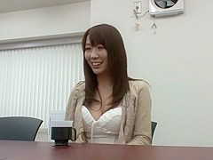 Best Japanese chick Hitomi Oki in Hottest small tits JAV movie