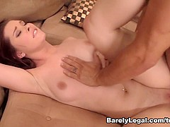 Melody Jordan in Her First Anal - BarelyLegal