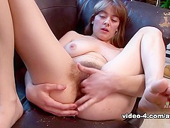 Clara Brown in Masturbation Movie - AtkHairy