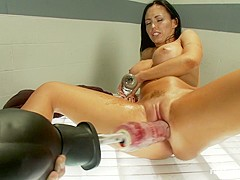 Incredible fetish porn clip with crazy pornstar Jenna Presley from Fuckingmachines
