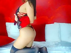Amazing brunette Luxury masturbate and play with dildo