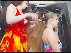 Long Hair  Hair  Hair Play  Hair Brushing 2