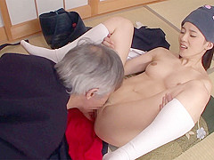 Saori Maeda in Kendo Student Let's Sensei Have Her - TeensOfTokyo