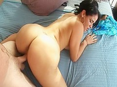 Horny pornstar Miss Raquel in crazy big butt, blowjob adult clip