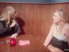 Horny teen, milf xxx scene with hottest pornstars Simone Sonay and Melissa May from Whippedass