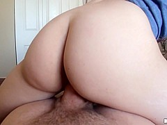 Mae Olsen in Cutie Loses a Bet For Anal Sex - LetsTryAnal