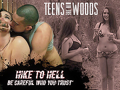 Sophia Lucille Hike To Hell - TeensInTheWoods