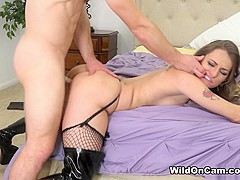 Natasha Starr & Robby Echo in Horny and Fucking - WildOnCam