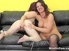 Holly Heart & Jessica Ryan in Horny Lesbians Jessica and Holly - WildOnCam