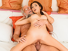 Frida Sante & Albert in Riding Grandpa - 21Sextreme