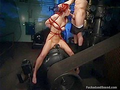 Sultry Marsha in Dungeonsex Video