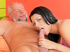 Vivien Bell & Albert in Grandpa's After Pool Screw - 21Sextreme