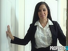 PropertySex Ruthless Real Estate Agent Fucked By Inspector