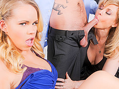 Britney Young & Nina Hartley & Sonny Hicks in Mommy You And Me Make 3, Scene #01
