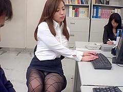 Exotic Japanese model Remi Sasaki, Ren Ayase, Miyuki Ojima, Hikaru Shiina in Hottest secretary, coup