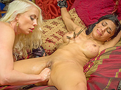 Incredible fetish, anal porn video with crazy pornstars Lorelei Lee and Beretta James from Whippedas
