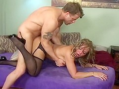 Best pornstar Kelly Leigh in fabulous blonde, milfs adult clip