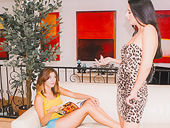 Nikki Daniels & Hannah Reilly in MILFs Eating Young Pussy #02, Scene #01 - LesbianOlderYounger