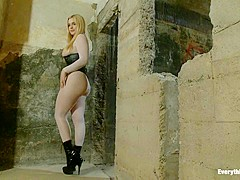 Horny fetish, blonde adult movie with incredible pornstars Audrey Hollander, Layla Pryce and Daniell