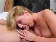 Incredible pornstar Lauren Phoenix in fabulous blonde, facial porn video