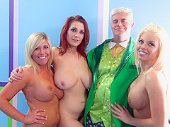 Siri, Britney Amber and Heidi Hollywood