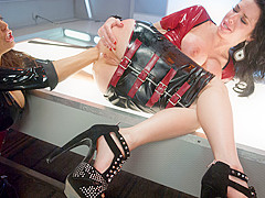 Hottest gaping, anal adult movie with fabulous pornstars Veronica Avluv and Francesca Le from Everyt