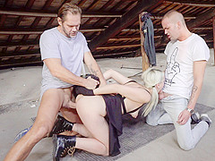 Liz Rainbow in Nacho's Fucking Warehouse, Scene #02 - EvilAngel