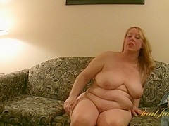Misty Luv Blu in Amateur Movie - AuntJudys