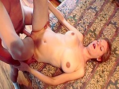 Best pornstar August Summer in hottest brunette, amateur xxx scene