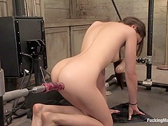 Exotic fetish porn scene with crazy pornstar Sasha Grey from Fuckingmachines