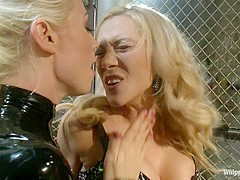 Best fetish, lesbian xxx scene with exotic pornstars Samantha Sin and Lorelei Lee from Whippedass