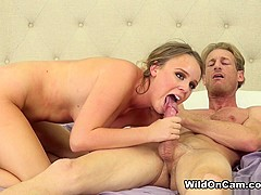 Alexis Adams & Ryan McLane in In the Mood For Fun - WildOnCam