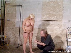 Pussy tortured Melanie Moons busty bdsm and german ### girl in interracial domination by cruel black
