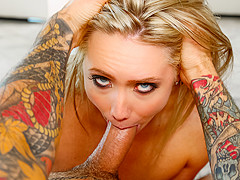 AJ Applegate in Gagging AJ With A Huge Cock Video