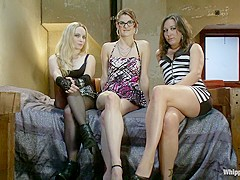 Exotic lesbian, fetish xxx movie with incredible pornstars Aiden Starr, Lux Leota and Sinn Sage from