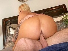 Amazing pornstar Karen Fisher in incredible big butt, blonde xxx clip