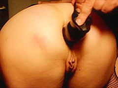 Amateur Couple Into Mutual Anal Play