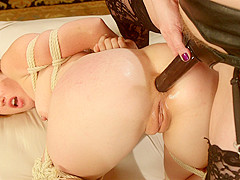 Best anal, lesbian porn clip with exotic pornstars Cherry Torn and Kay Kardia from Whippedass