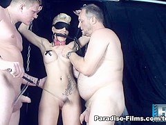 Scarlet Young in Shackles And Chains - Paradise-Films